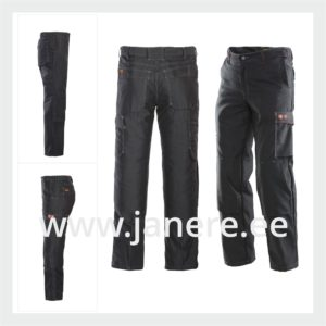 Kõrge vöökohaga Keevitaja püksid C44