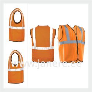 Kõrgnähtavusega Cl 2 vest oranž L/XL