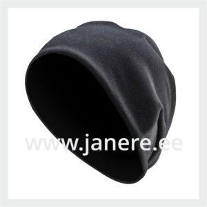 Müts must üks suurus